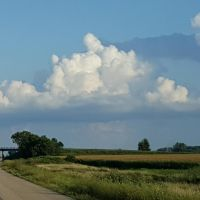 View from Side of Road in Wisconsin by WisTex
