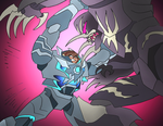 Ajna VS Hardshell by NickOnPlanetRipple