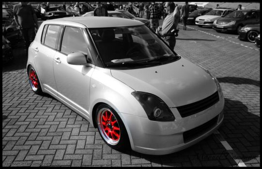 2008 Suzuki Swift by compaan-art