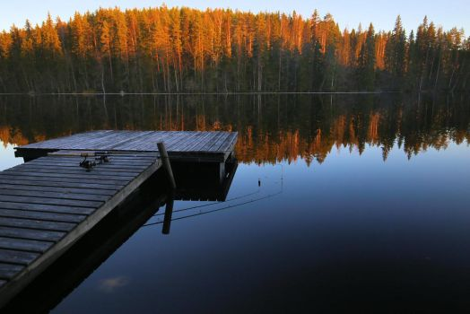 time to fishing by KariLiimatainen