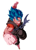 VEGETTO SSJBLUE KAIOKEN  SDBH RENDER by AlejandroDBS