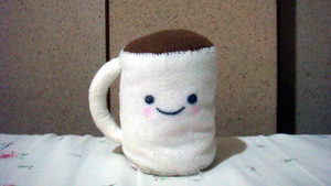 Chocolate mug by kinow