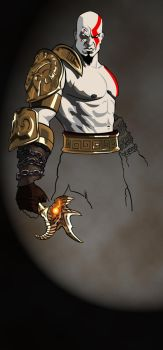 Kratos God of War - Unfinished by unreal-indy