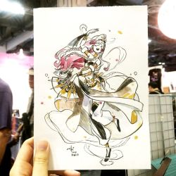 STGCC Commission 2 - Olivia by SillyJellie
