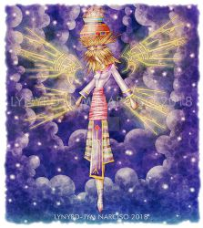 A Star Maiden of Philippine Mythology by blue-fusion