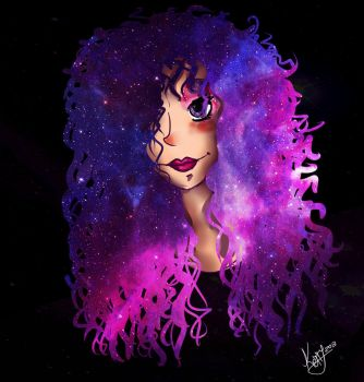 GALAXY HAIR by K-e-t-t-y