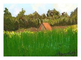 Casita en el bosque_Freebie by IrysArt