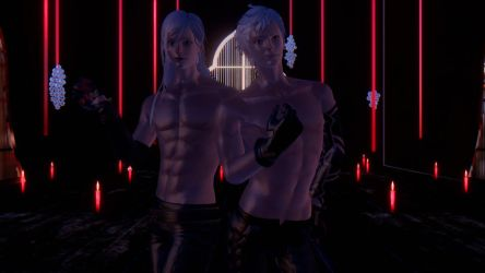 (NieR: Automata) Adam and Eve Model DL (Beta Ver) by MinnieMints