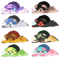 Sleepy Cuties - Adopts (3/8 OPEN) by all-type-adopts