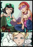 Pop'n'Lock Girls by BlossomPPG