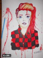 red haired badass? by sissadDS