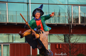 Swedish Easter Witch gears up by RaisedFists