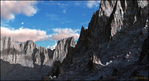 Jagged Mountain by jbjdesigns