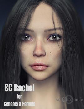 SC Rachel for Genesis 8 Female by second-circle