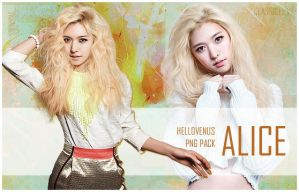 Alice Hello Venus png pack by classicluv