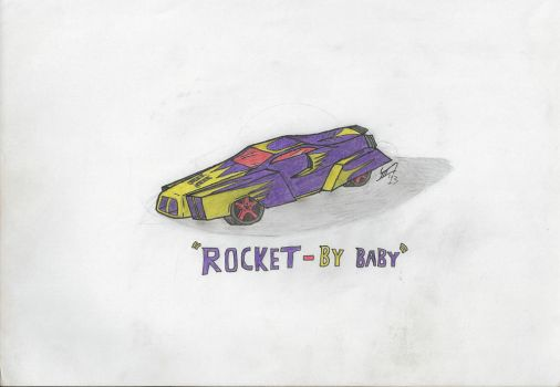 Rocket-by-baby by wapond