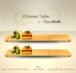 Chinese Table Dock - OD by snuffleupagus