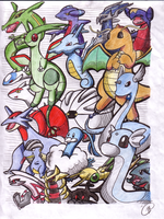 Every Dragon Pokemon