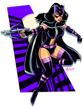 huntress / cazadora by Shayeragal
