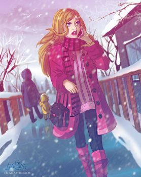 That Winter Day by LilaCattis