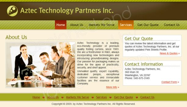 Aztec Technology Partners by iodic