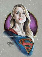 Supergirl (2015) by scotty309