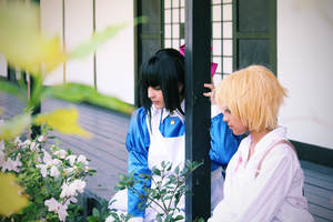 Mad Father Cosplay: Aya and Dio by Awesome-Vivi