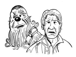 CHEWIE WERE HOME by ChrissicDesign