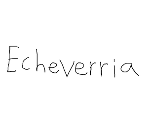 Echeverria Logo Early by Rafie1998
