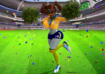 Lana Loft  : World Cup of Russia ! by Celso33