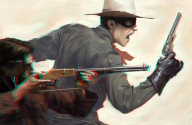The Lone Ranger and Tonto 3-D conversion by MVRamsey