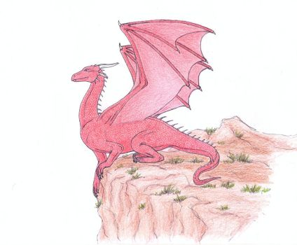 Basic Red Dragon by WeirdAille