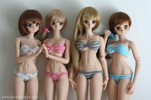 Dollfie swimwear XD by chun52