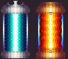 14th Pixel Art - Reactor by TrepkSoto