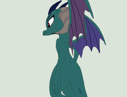 Princess no wait Dragon Lord Ember by WingDingRandomness