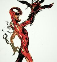 Another Carnage Sketch by MonoFlax