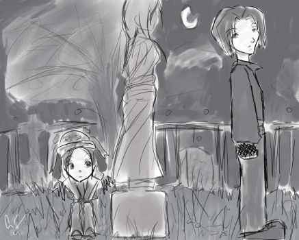 reminds me of teh adams family by Meh-est-Hojo