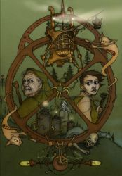 Wheel of fate-coloured by CopperAge