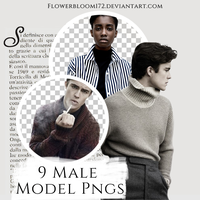 Male Model PNG Pack 1 by FlowerBloom172