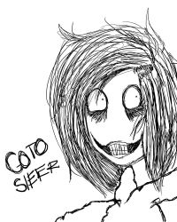Jeff The Killer Sketch by xMrJeffTheKillerx