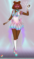 Sailor Senshi:~Cotton Candy~ by LaKiraRee