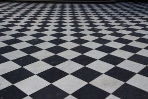 Checkered floor 8018 by estellium