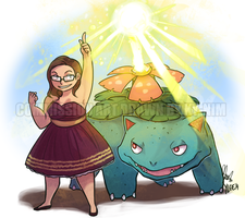 Commission: Birthday Venusaur