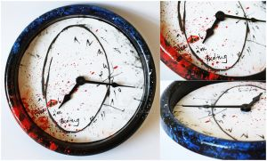Hannibal ~ Will Graham ~ Wall Clock by MR-chan