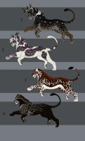 Big Cat Design Sales 6  - SOLD! by NadiavanderDonk