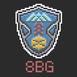 8 Bit Guardians Crest by DESIGNOOB