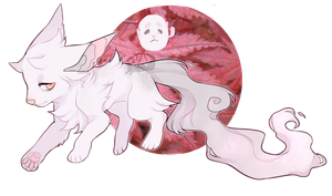 [AUCTION] Ghost Adopt - Ameiun [CLOSED] by qekkon