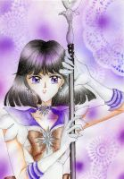 Sailor Saturn by ladymadge