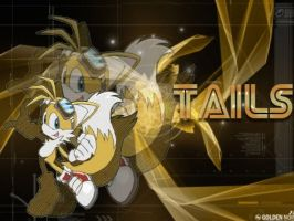 Tails Wallpaper gift by BrandyKoopa92