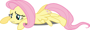 Fluttershy - defeated by BobtheLurker